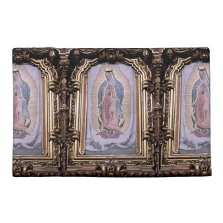 Virgin of Guadalupe Travel Accessory Bag