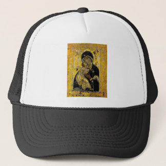 Virgin of Kyiv Ukrainian Icon Madonna Trucker Hat