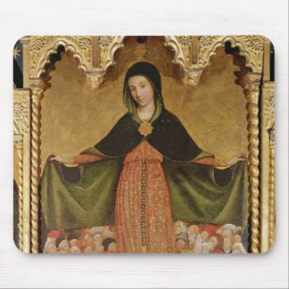 Virgin of Misericordia, detail of central Mouse Pad