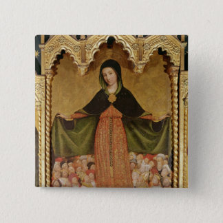 Virgin of Misericordia, detail of central Pinback Button