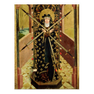 Virgin of Seven Sorrows from the Dome Altar, 1499 Postcard