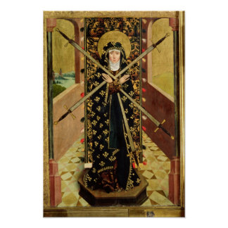 Virgin of Seven Sorrows from the Dome Altar, 1499 Poster