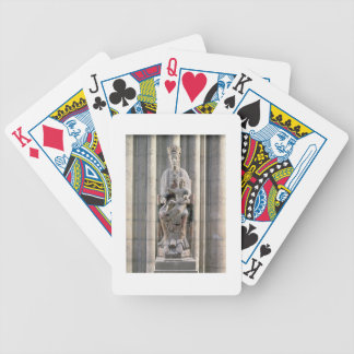 Virgin of St. Martin des Champs, 12th century (sto Bicycle Playing Cards