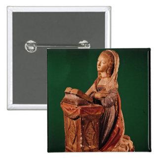 Virgin of the Annunciation Pinback Button