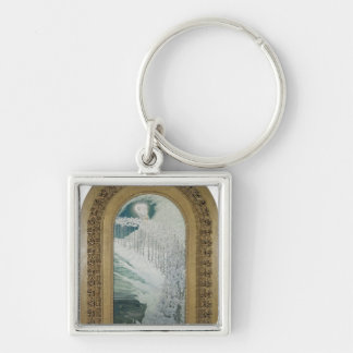 Virgin of the Lilies, 1899 Key Chains