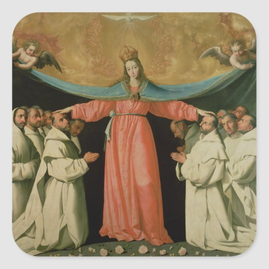 Virgin of the Misericordia Square Sticker