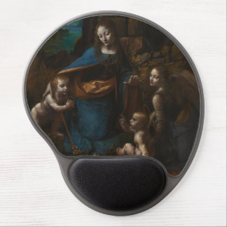 Virgin of the Rocks by Leonardo da Vinci Gel Mousepad