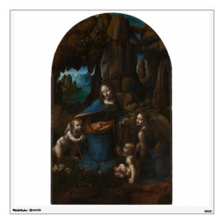 Virgin of the Rocks by Leonardo da Vinci Wall Sticker
