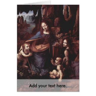 Virgin of the Rocks Card