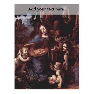 Virgin of the Rocks Postcard