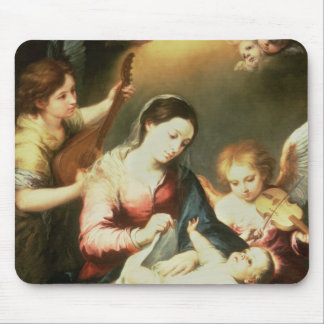 Virgin of the Swaddling Clothes Mouse Pad