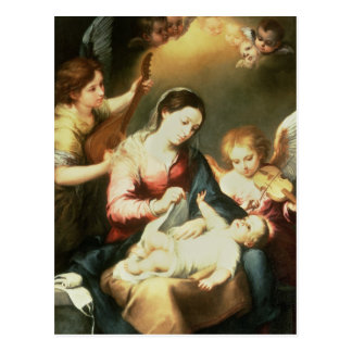 Virgin of the Swaddling Clothes Postcard