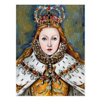Virgin Queen Postcard