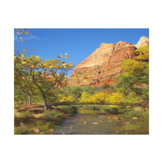 Virgin River - Wyoming Gallery Wrapped Canvas