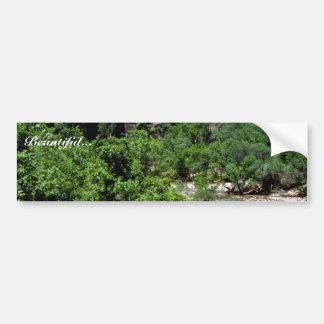 Virgin River Zion National Park Bumper Sticker