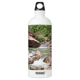 Virgin River, Zion National Park, Utah, USA Water Bottle