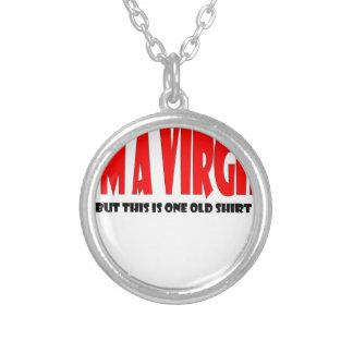 virgin shirt.jpg round pendant necklace