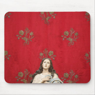 Virgin statue in a Spaccanapoli church, Naples Mouse Pad