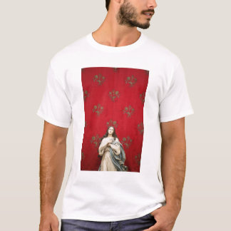 Virgin statue in a Spaccanapoli church, Naples T-Shirt