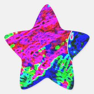 VIRGIN Waves Star Sticker