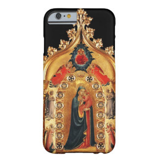VIRGIN WITH CHILD AND ANGELS GOLD SACRED ART ICON BARELY THERE iPhone 6 CASE
