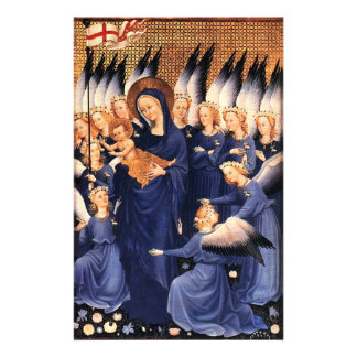 VIRGIN WITH CHILD AND ANGELS STATIONERY