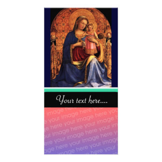 VIRGIN WITH CHILD AND SAINTS 2 CARD