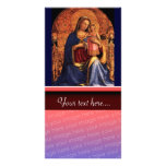 VIRGIN WITH CHILD AND SAINTS 2 PHOTO CARD