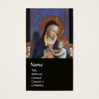 VIRGIN WITH CHILD AND SAINTS BUSINESS CARD