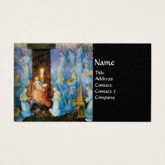 VIRGIN WITH CHILD - CONCERT OF ANGELS BUSINESS CARD