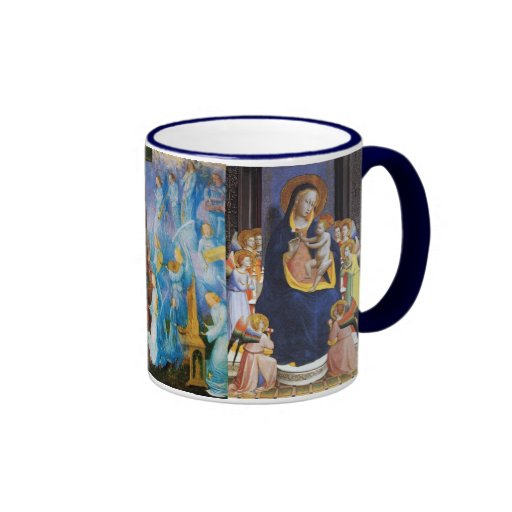 VIRGIN WITH CHILD - CONCERT OF ANGELS COFFEE MUGS