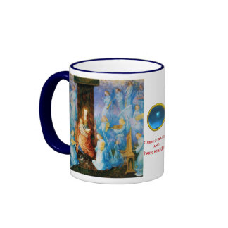 VIRGIN WITH CHILD - CONCERT OF ANGELS RINGER COFFEE MUG