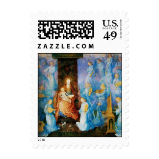 VIRGIN WITH CHILD - CONCERT OF ANGELS POSTAGE