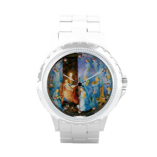 VIRGIN WITH CHILD - CONCERT OF ANGELS WRISTWATCH