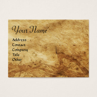 VIRGIN WITH CHILD Parchment Business Card