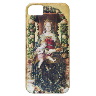 VIRGIN WITH CHILD , Parchment iPhone SE/5/5s Case