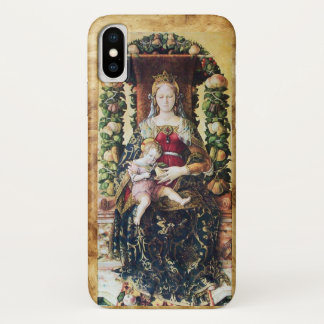 VIRGIN WITH CHILD , Parchment iPhone X Case