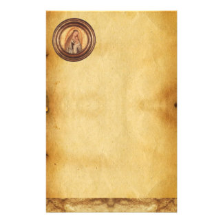 VIRGIN WITH CHILD ,Parchment Stationery