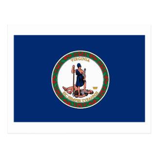 Virgina Flag Postcard