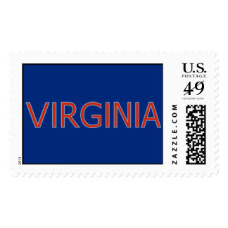 Virginia 1st Class Postage Stamps