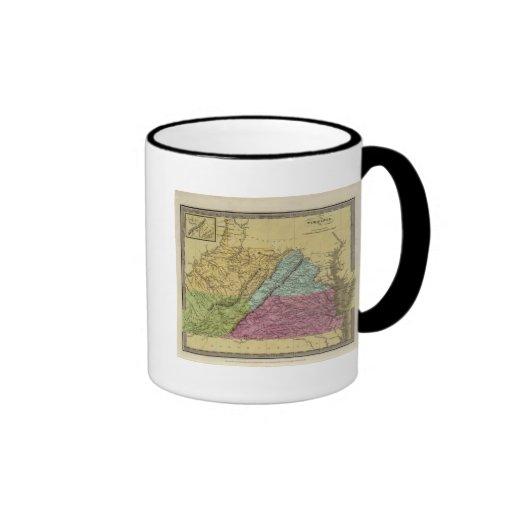 Virginia 7 taza de café