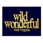 Virginia-Amarillo del oeste maravilloso salvaje Postales