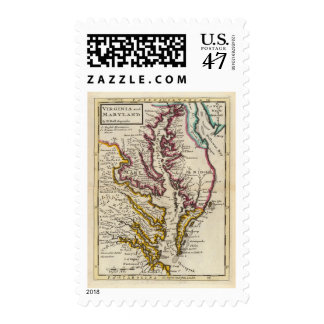 Virginia and Maryland Postage