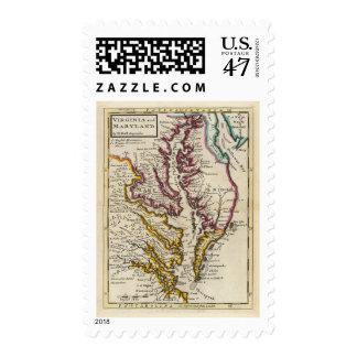 Virginia and Maryland Postage