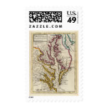 Virginia and Maryland Postage Stamps