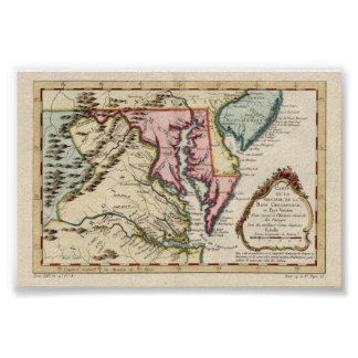 Virginia and the Chesapeake Bay Posters