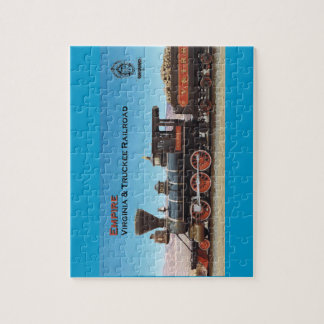 Virginia and Truckee Railroad engine Empire Jigsaw Puzzle