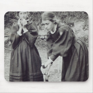 Virginia and Vanessa Stephen, in St. Ives, 1894 Mouse Pad