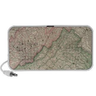 Virginia and West Virginia 2 Notebook Speakers
