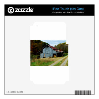 Virginia Barn iPod Touch 4G Decal